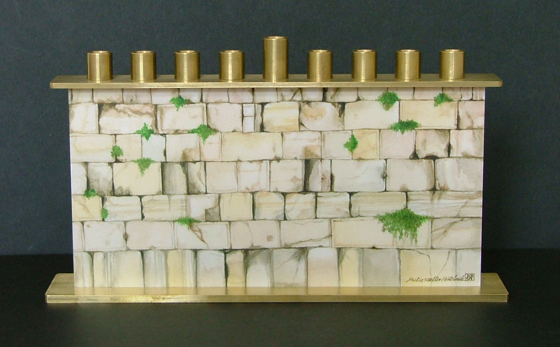 Kotel Chanukah Menorah