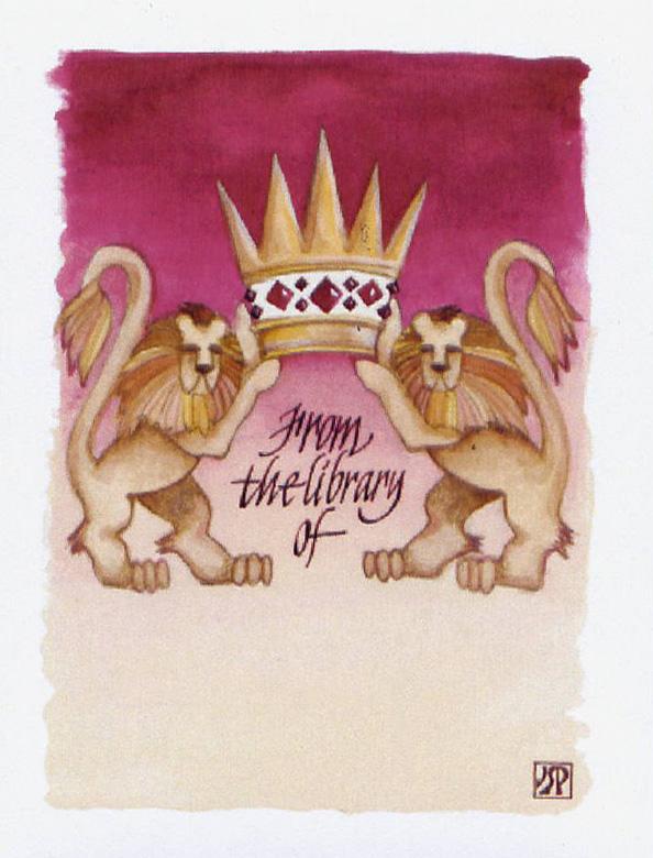 Lions of Judah Bookplates