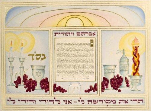 Shabbat and Havdalah with grapes