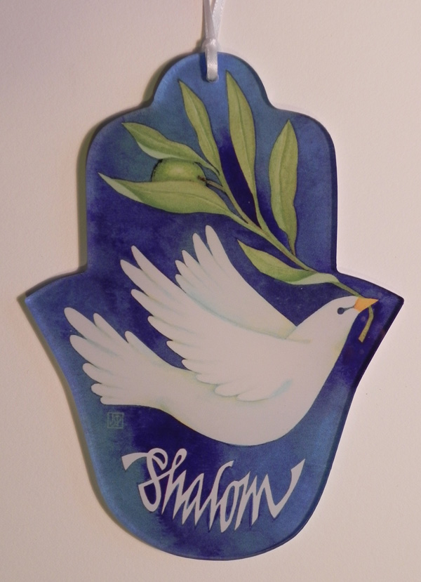 Shalom with Dove