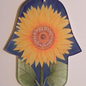Sunflower Hamsa